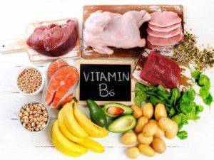 Витыимны группы В, источник витамина в6