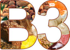 витамины группы В - В3
