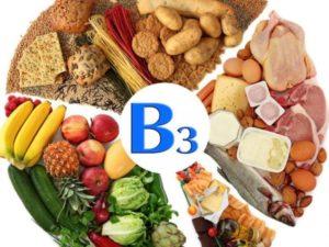витамины группы В, источники РР