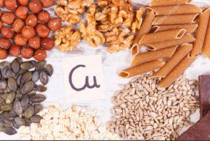Микро- и макроэлементы, источники меди, продукты питания