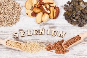 Микро- и макроэлементы, источники селена, продукты питания