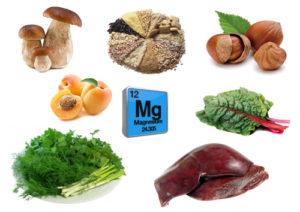 Микро- и макроэлементы, источники марганца, продукты питания