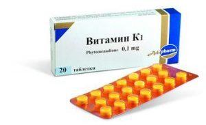 фитоменандион, препараты