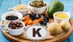 витамин К, источники