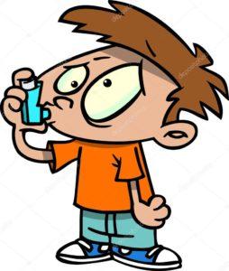 прием витаминов при акне астме