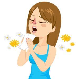 аллергия, пища