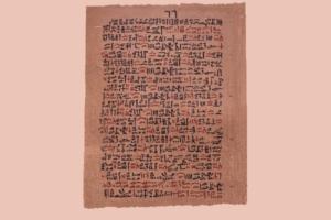 папирус эберса, египет, история