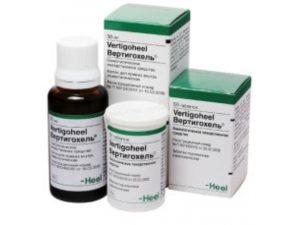 вертигохель, гомеопатический препарат