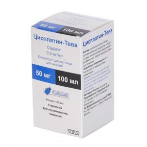 цисплатин, противоопухолевый антибиотик
