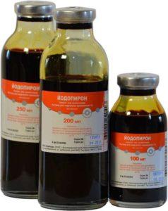 Жидкие лекарственные формы: раствор йода