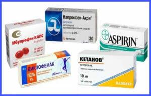 Обезболивающие препараты при головной боли