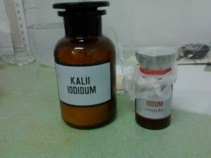 Приготовление калия йодида